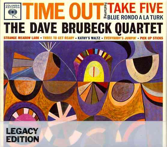 TIME OUT: 50TH ANNIVERSARY BY BRUBECK,DAVE QUARTE (CD)